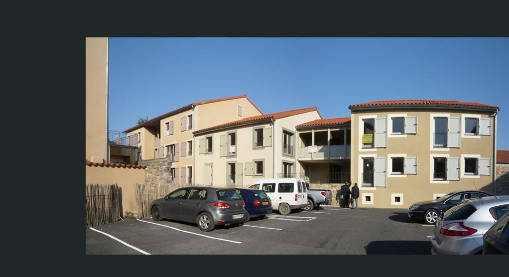 Realisations habitat colectif neuf seguret for Construction de logements neufs
